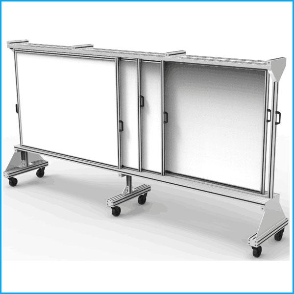 XL-G03-铝型材多层看板